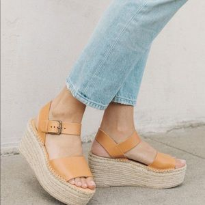 Soludos Minorca Block Heel Sandals (Size 8)